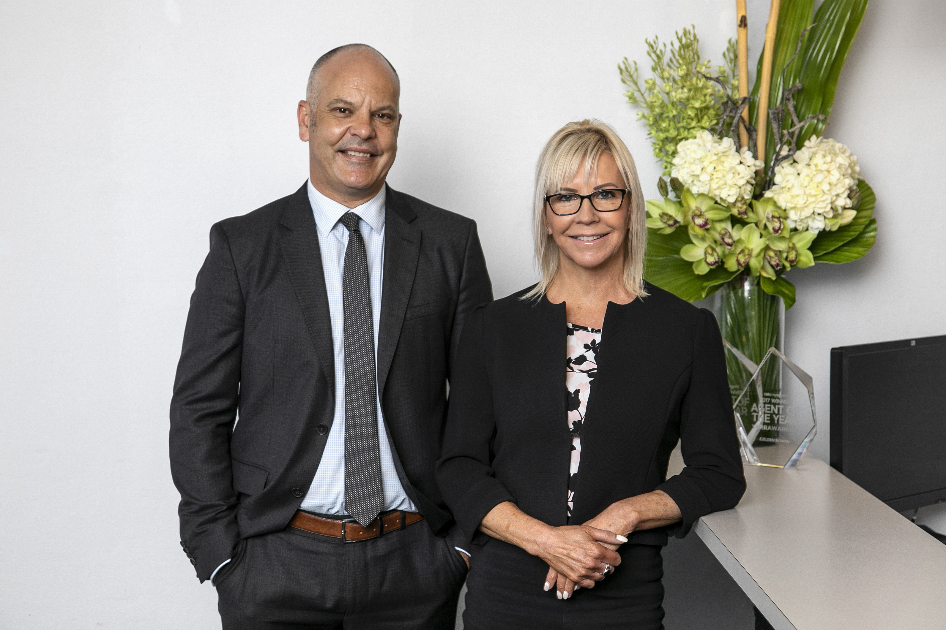 HIGH RES Stone Engadine principal Wade Gilmore and business partner Coleen Bowen Oct2020