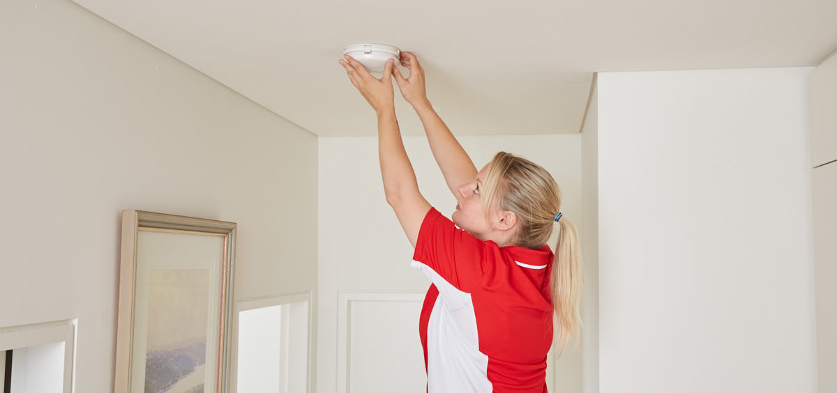 smoke detector property management services