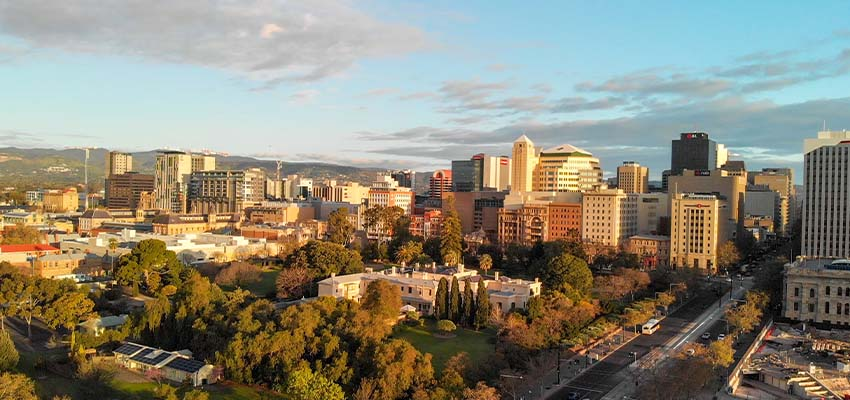 Adelaide aerial reb