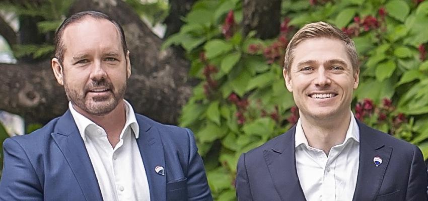 Ben Jacobs and Joel Davoren