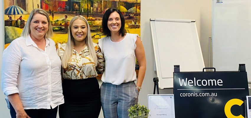 Georgie Merry Coronis BDM Cadetship Program reb