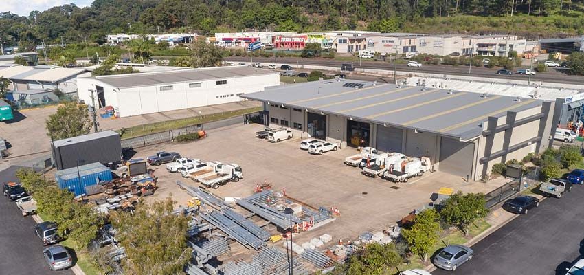 Kunda Park commercial facility Qld reb