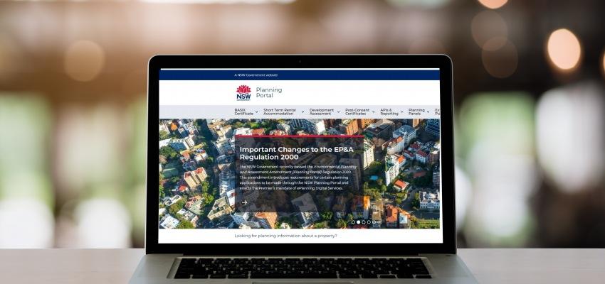 NSW Planning Portal reb