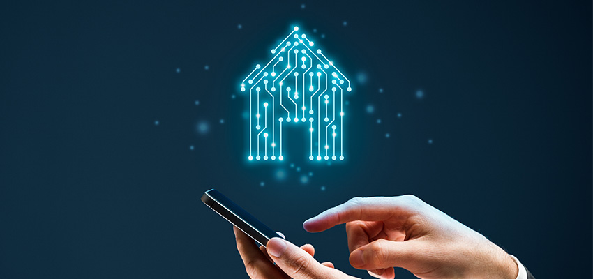 Property technology app smartphone reb