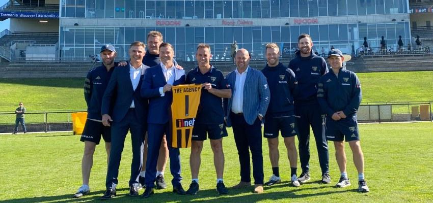 The Agency Hawthorn Football Club reb