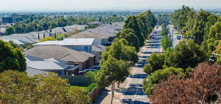 aerial residential properties reb