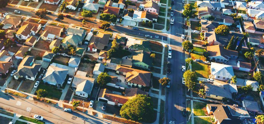 aerial suburbs reb