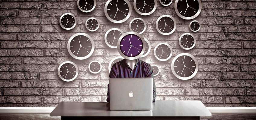 clock laptop 850