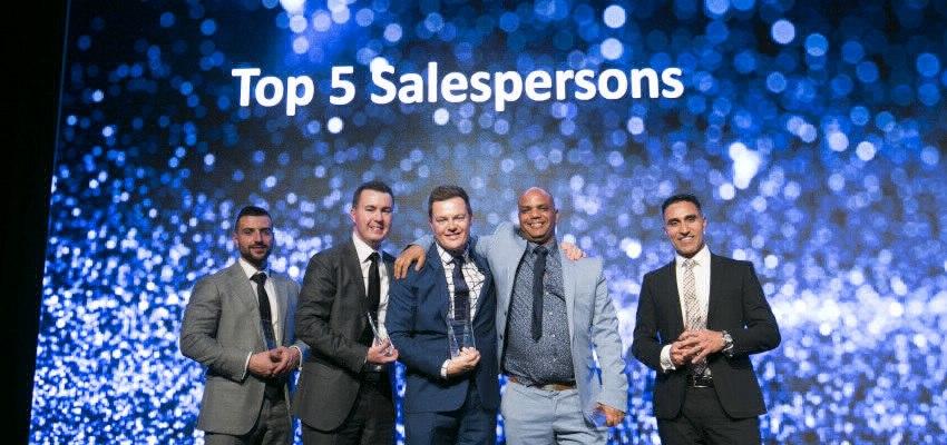 Starr Partners Merrylands, sales awards, top salespersons, Daniel Starr