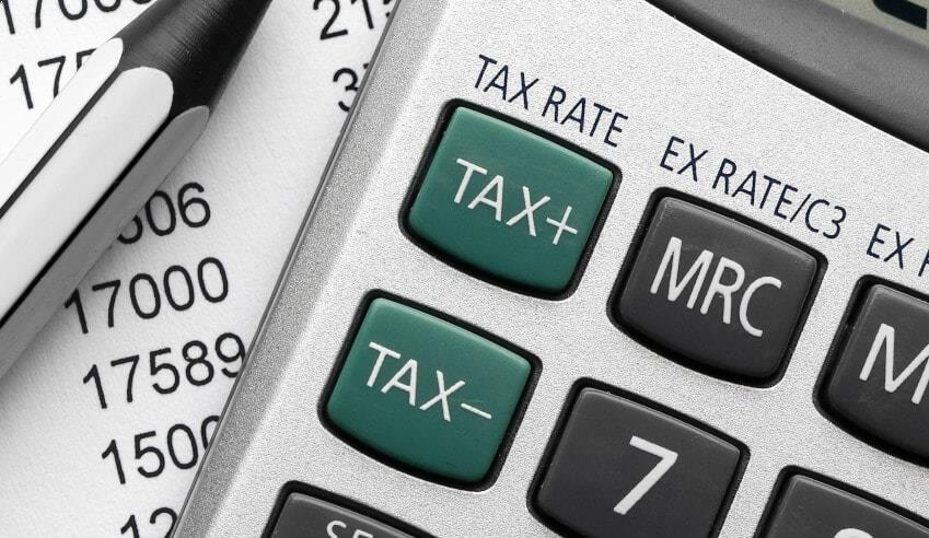 tax rate 850