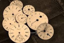 clocks broken hands