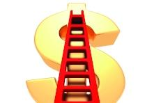 dollars ladder