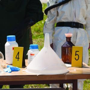 drug lab evidence