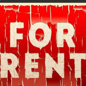 for rent old sign