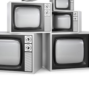 televisions old four