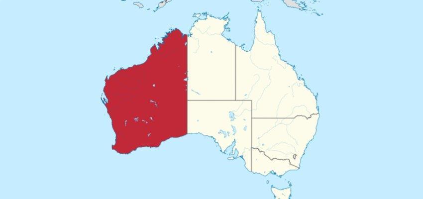 western aus map 850