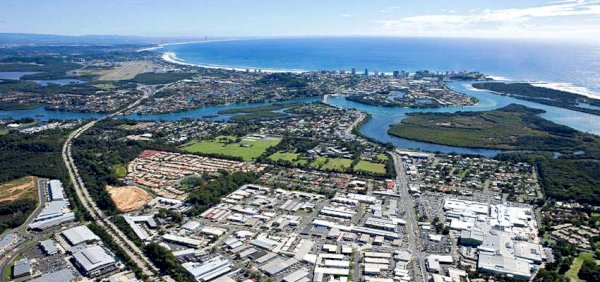 Tweed Heads aerial reb