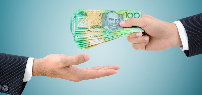 mortgage repayments, money, give money, cash, NAB, Australian dollars