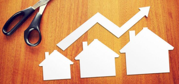Houses prices increase