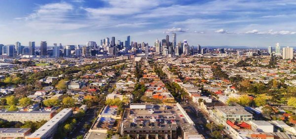 melbourne skyline suburbs reb