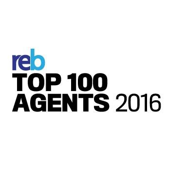 reb top 100 agents 2016