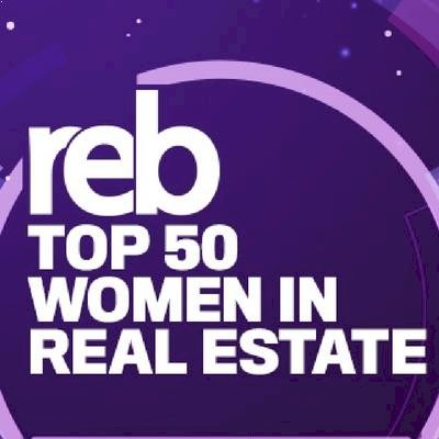 Top 50 Women in Real Estate Logo