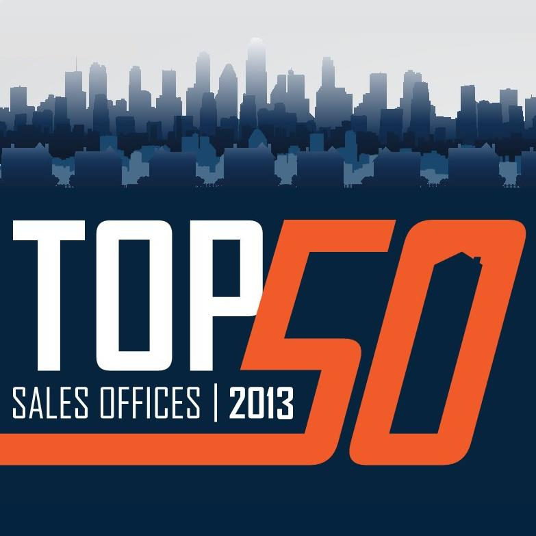 top 50 sales offices 2013